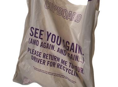 Ocado carrier bag
