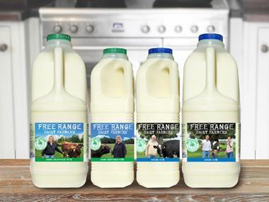 free range milk