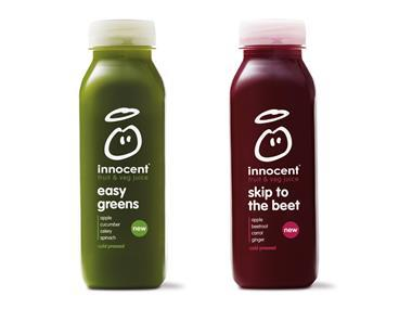 Innocent cold-pressed juices