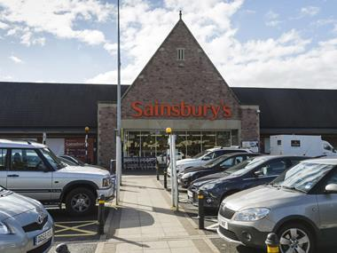 sainsbury's exterior
