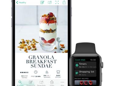 M&S Cook With app