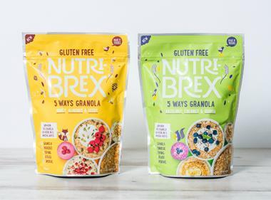 Nutri-Brex 5 Ways Granola range