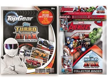 Attax top gear avengers