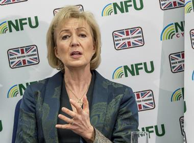 Andrea Leadsom at NFU Conference