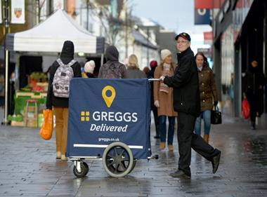 greggs delivered