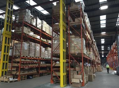 ACE exports caribbean warehouse