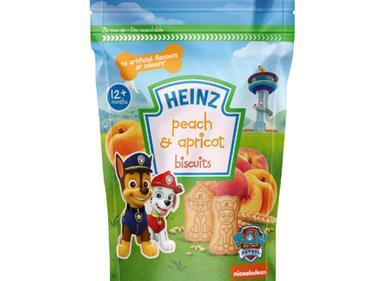 Heinz PAW Patrol licensed biscuits for toddlers