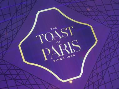 Courvoisier Toast of Paris