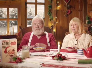 Kellogg's Corn Flakes, Christmas ad 2017