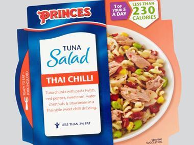 tuna salad princes lunch