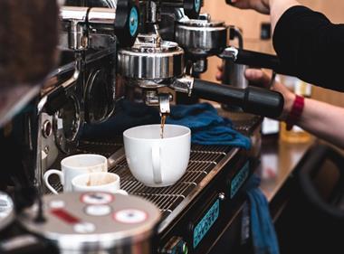Barista coffee espresso web