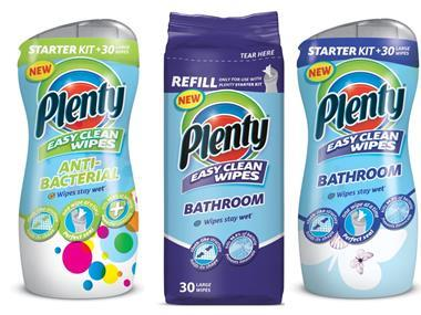 Plenty cleaning wipes
