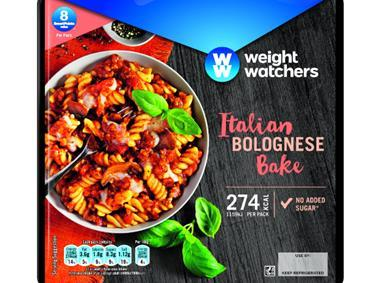 Weight Watchers Ready Meal Bolognese Al Forno