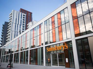 Sainsbury's Nine Elms store