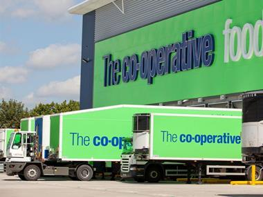 co op lorry depot