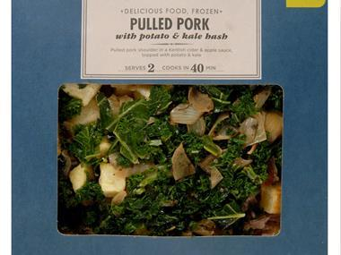 M&S frozen ready meal: pulled pork hash