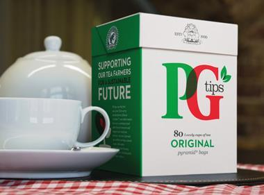 PG Tips new look