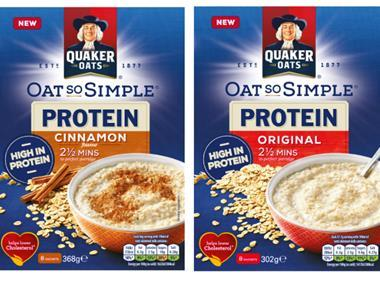 Quaker Oats Oats So Simple Protein Sachets