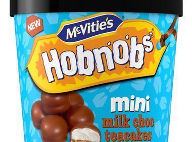 McVitie's sharing tub, Hobnobs Mini Milk Choc Teacakes