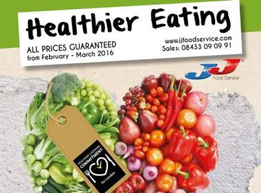jj foodservice healthy eating