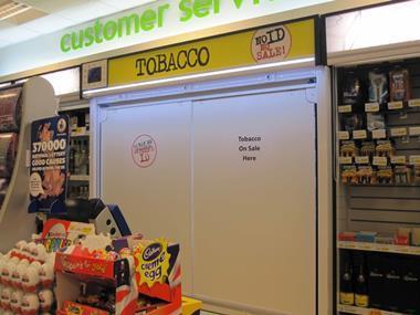 tobacco discplay ban ranging