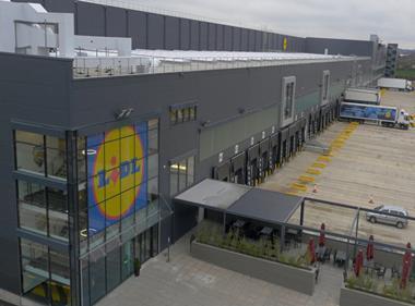 lidl warehouse wednesbury