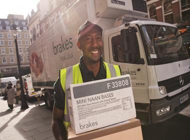 brakes delivery driver