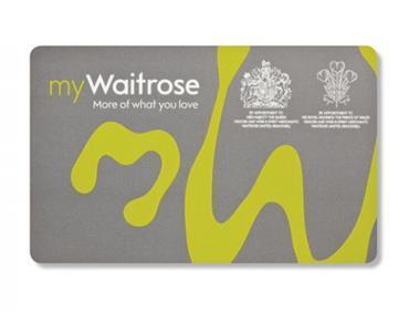 my waitrose card