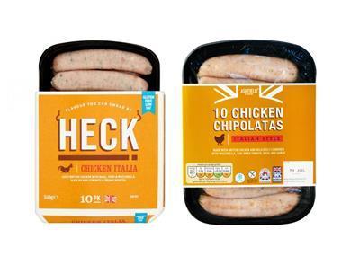 heck vs aldi chicken sausages