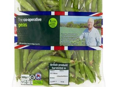 co-op british peas