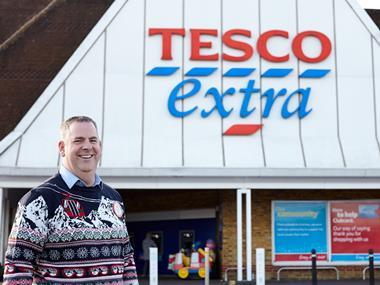 tesco ipswich mark smaldon