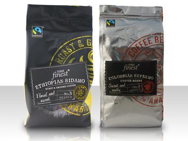 Tesco coffee fairtrade