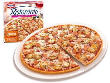 Dr Oetker Quorn pizza