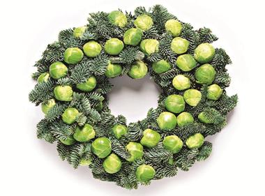 Waitrose Christmas wreath
