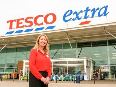 Tesco store manager