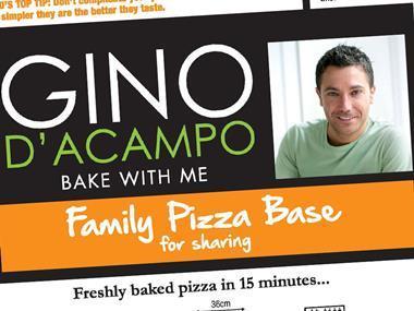 Gino D'Acampo pizza