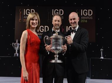 Grocer Cup Winner Steve Murrells