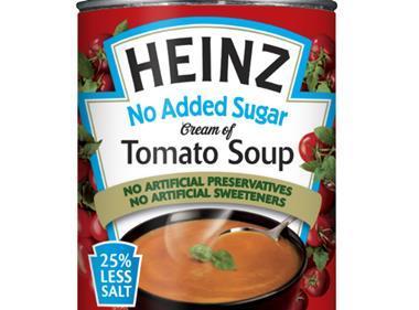 HEINZ NO ADDED SUGAR CREAM OF TOMATO SOUP