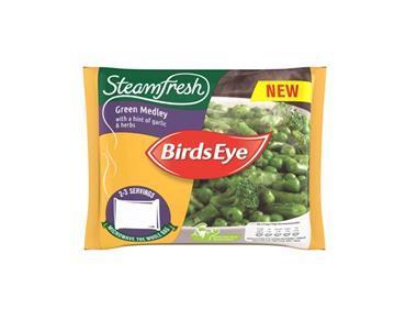 Birds Eye food waste packaging