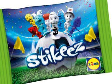 Lidl bids to drive up basket size with Stikeez Euro 2016 figures