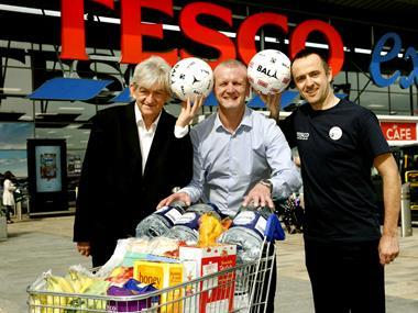 Tesco to provide meals and water for Homeless World Cup