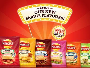 Walkers teams with Heinz for crisps range inspired by sarnies