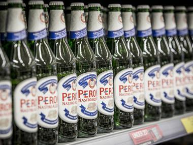 Asahi in deal to buy Peroni, Grolsch and Meantime from AB InBev