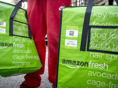 Ocado claims Amazon Fresh launch has had 'absolutely no impact' on its business