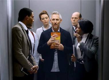 Gary Lineker fronts TV ad to drive new Walkers Bugles snacks