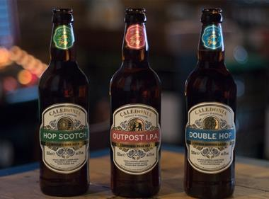 Tennent's unveils Caledonia trio of premium ales