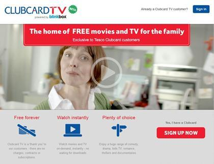 Clubcard TV screengrab