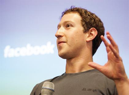 Mark Zuckerberg of Facebook
