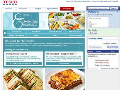 Tesco launches Easy Entertaining