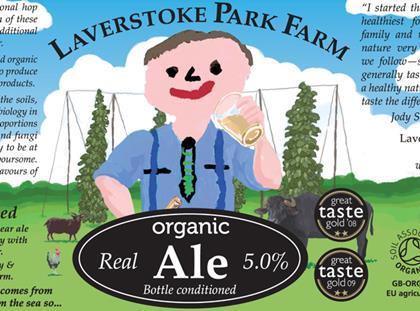 Jody Schecker's Laverstoke Park ale label falls foul of Portman Group